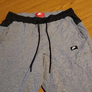 Grey Nike Sweatshorts
